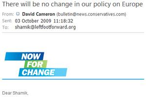 Referndum dilemma: David Cameron has refused to commit to a referendum on the Lisbon Treaty