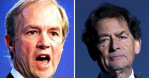 Climate sceptics Peter Lilley and Lord (Nigel) Lawson have extensive links with the oil industry