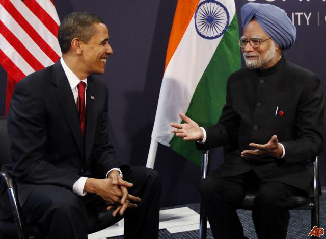 President Obama and Priminster Manmohan Singh