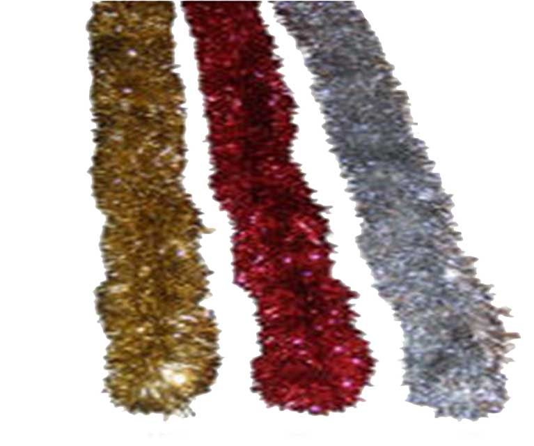 Christmas-tinsel