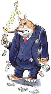 Greedy-fat-cat