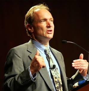 Tim Berners-Lee's remarks were misreported by the Daily Telegraph