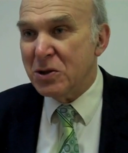 Vince Cable is to get tough on the banks
