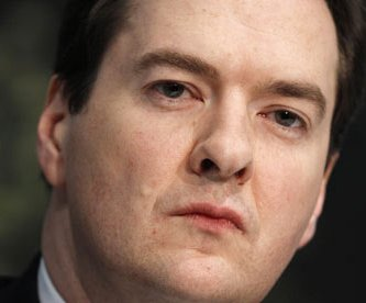 George Osborne has attacked Treasury civil servants
