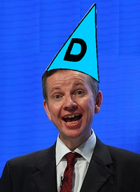 Michael-Gove-dunces-cap