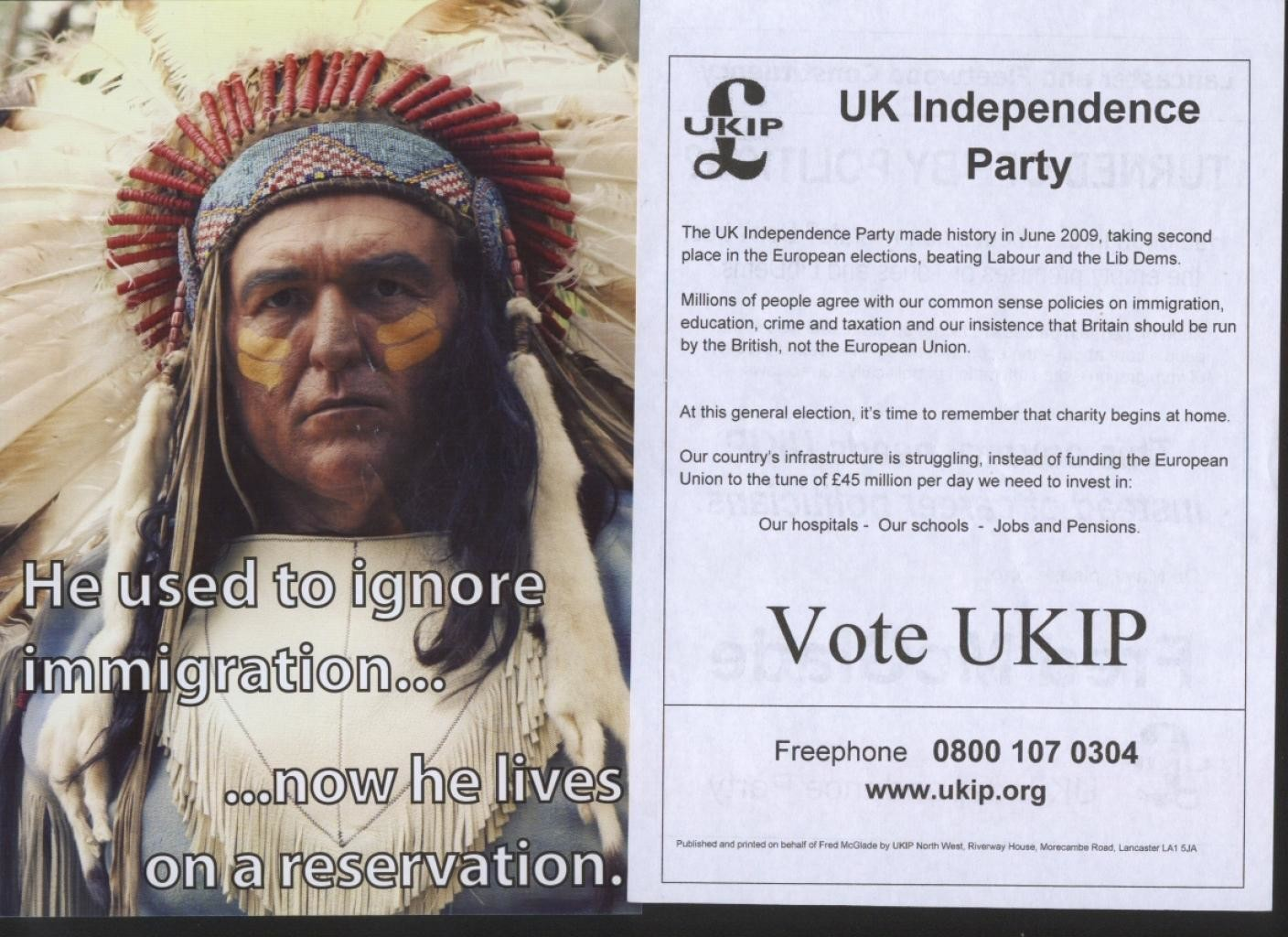 ukip compares immigration native american oppression left ukip compares immigration oppression of native americans