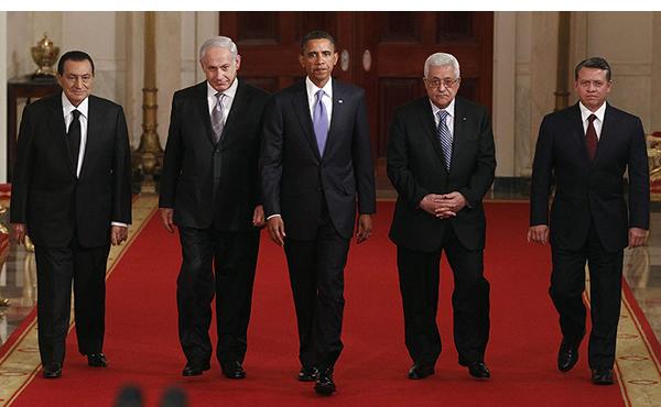 Hosni-Mubarak-Binyamin-Netanyahu-Barack-Obama-Mahmoud-Abbas-King-Abdullah