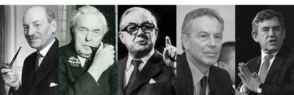 Post-war-Labour-prime-ministers