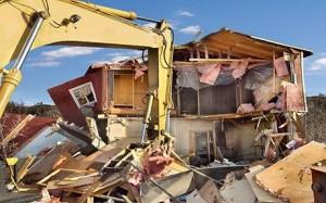 House-being-bulldozed