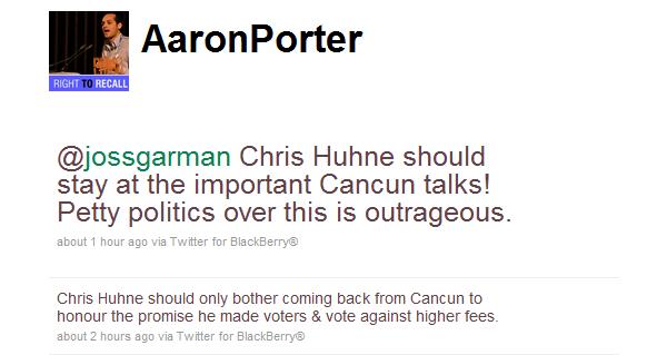 Aaron-Porter-tweets-to-Joss-Garman