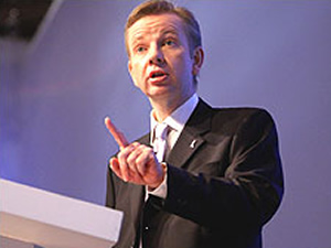 Michael Gove: Showing students the finger over EMA