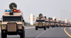 Saudi-Arabian-troops-rolling-into-Bahrain