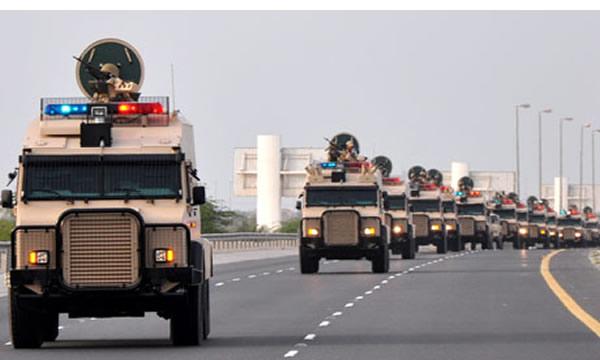 Saudi-Arabian-troops-rolling-into-Bahrain