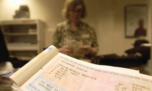 Pensions-book