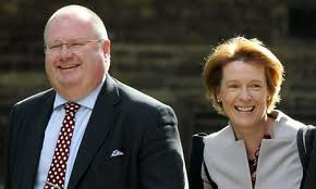 Caroline Spelman and Eric Pickles