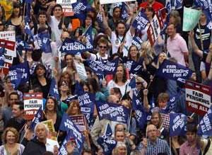 Pensions-strike-30-06-11