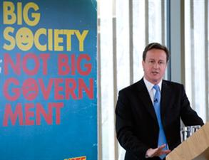 The Big Society: Going down like a big red angry face