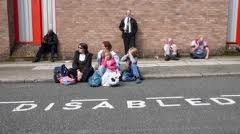 Families with disabled children are being shown the kerb