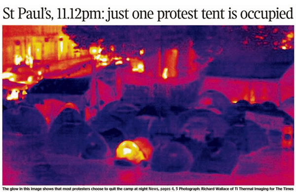 Times-front-page-St-Pauls-Cathedral-protest