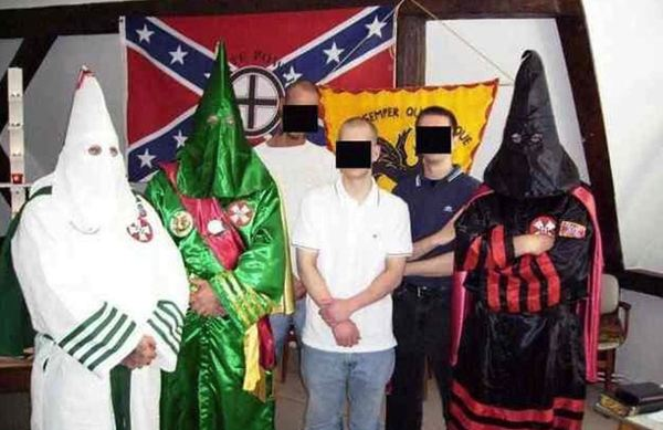 The European White Knights of the Burning Cross: They look like idiots.