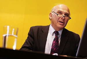 Vince Cable prepares to hand in his social democratic card for good