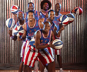 The Harlem Globetrotters. The best basketball team.