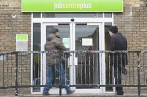 Young-unemployed-outside-job-centre