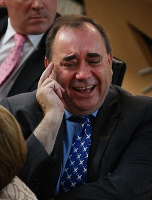 Salmond LAUGHS at your attempts to solve thorny constitutional issues with a six-person commission