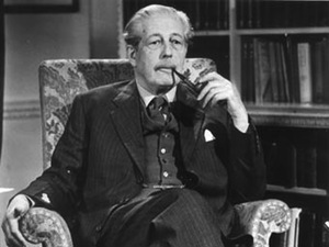 Harold Macmillan looking distinguished