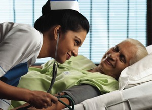 Under the Indian NHS, all nurses will be airbrushed models. High quality care.