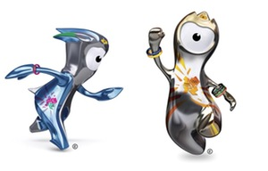Olympic mascots. They are terrifying.