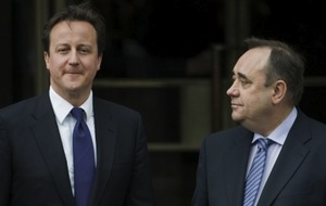 "Cameron refuses to acknowledge the existence of Salmond, claiming ""I, and only I, have sole dominion over the UK"""