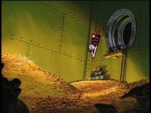 Dive, Scrooge, Dive! Quackitative easing