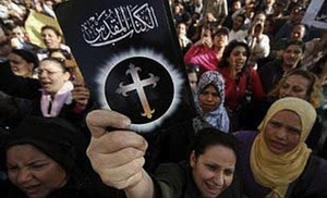 Syrian Christians call for help.