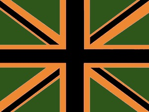 Union Jack - We 'integrated' the colours from other flags. See?
