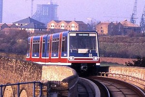 DLR - You can SIT at the FRONT and pretend you are DRIVING