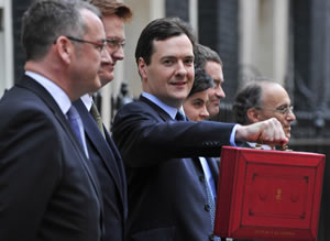 George-Osborne-Budget-2012-with-Treasury-team-in-Downing-Street