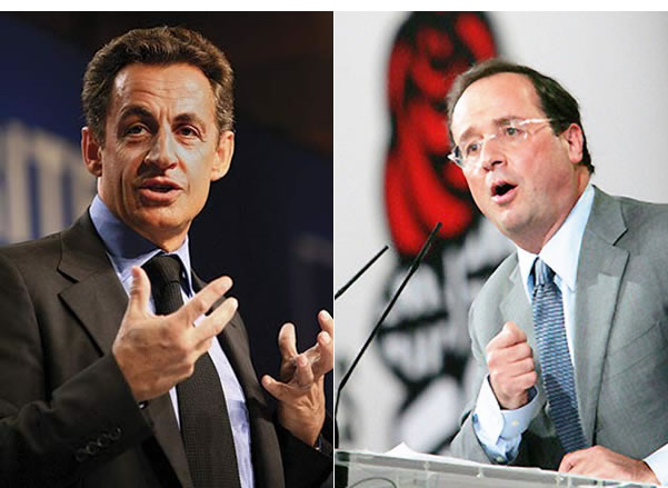 Nicolas-Sarkozy-Francois-Hollande