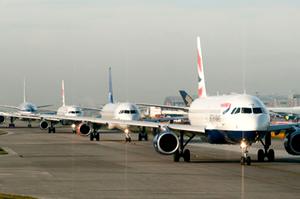 British-Airways-aircraft-on-runways-at-Heathrow-Airport