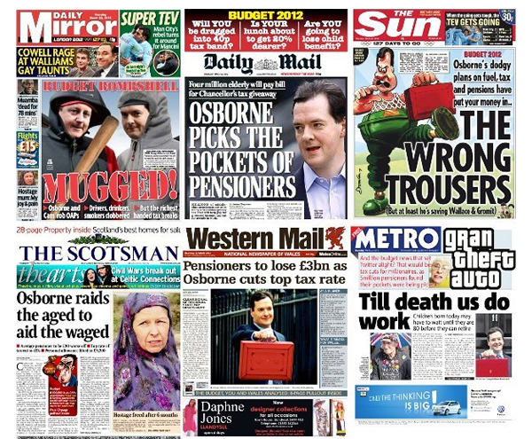 George-Osborne-budget-2012-granny-tax-front-pages
