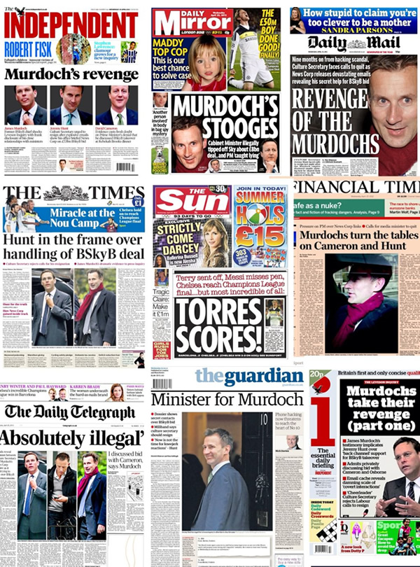 Images of Newspapers Front Pages Newspaper-front-pages