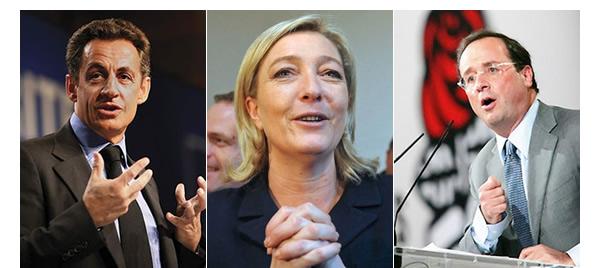 Nicolas-Sarkozy-Marine-Le-Pen-Francois-Hollande