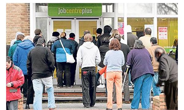 Job-Centre-queue
