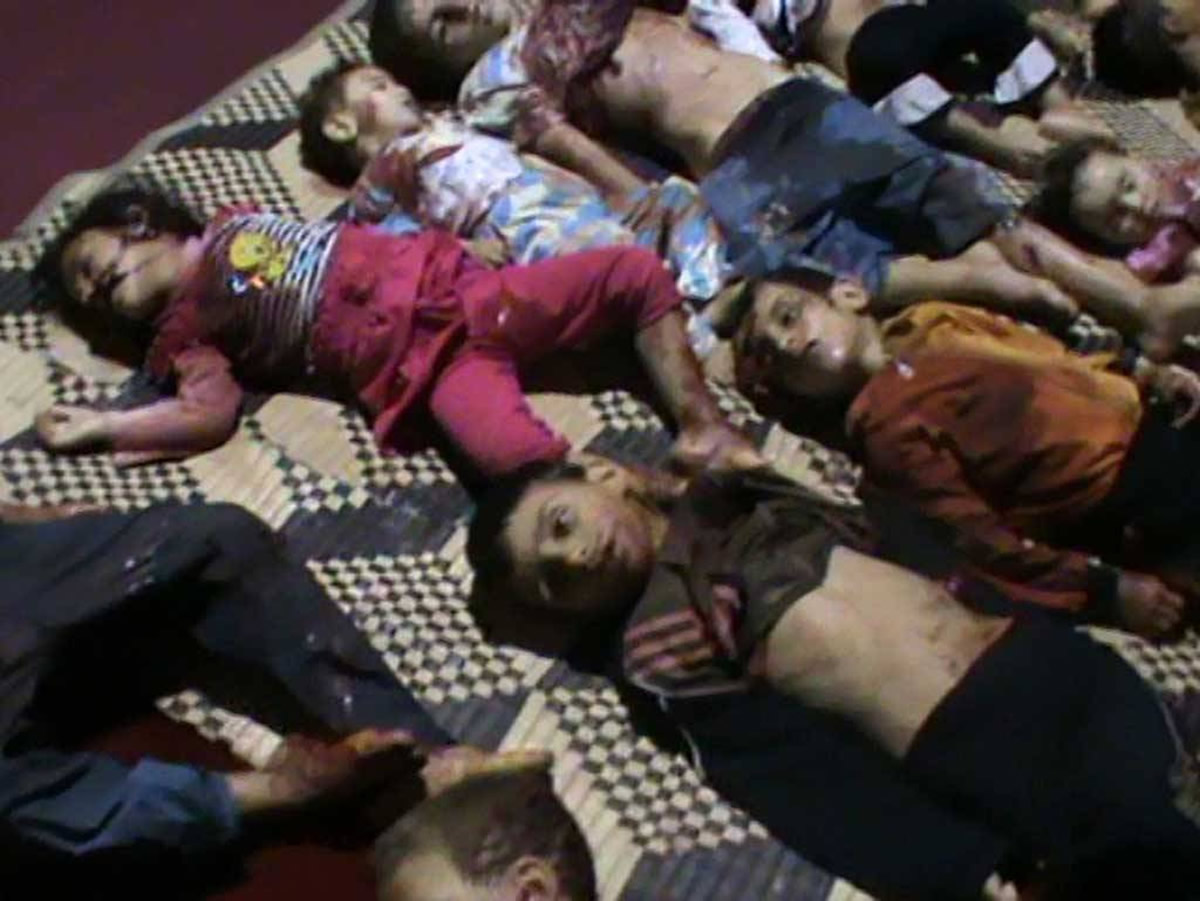 Syria Houla massacre of children 1200x901 Arab Spring Syria