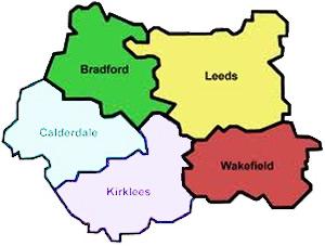 West-Yorkshire-map-Leeds-Bradford-Wakefield