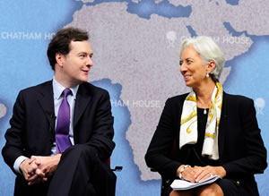 George-Osborne-Christine-Lagarde