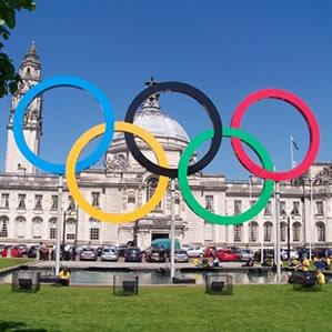 Olympics-Cardiff