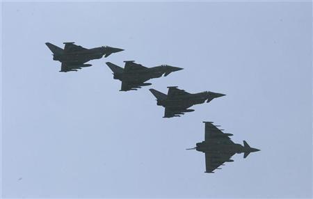 EF-2000 warplanes