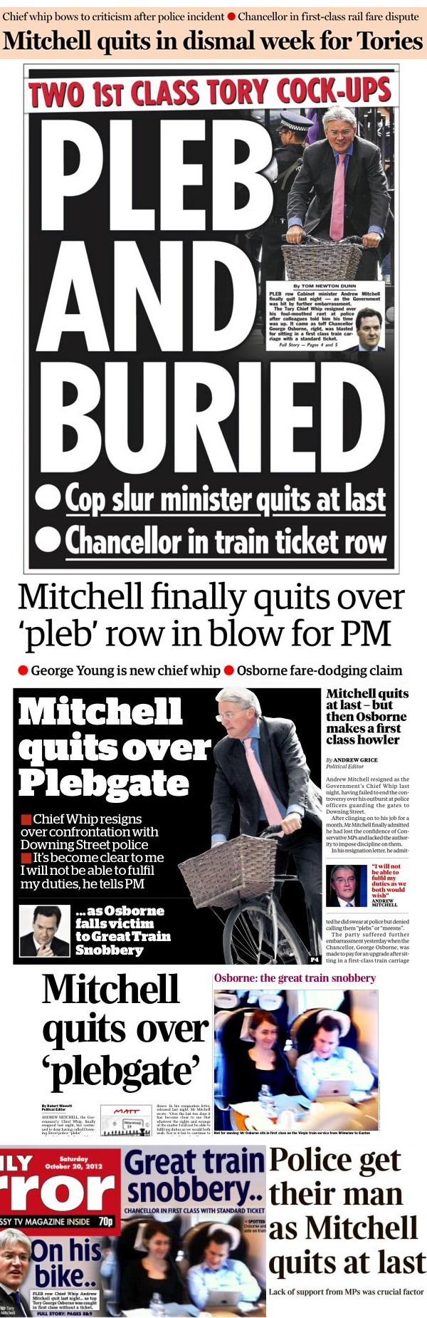 Andrew-Mitchell-George-Osborne-front-pages