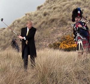Donald-Trump-golfer